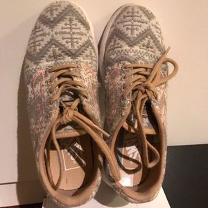 Vans Tribal & Coral Sneakers
